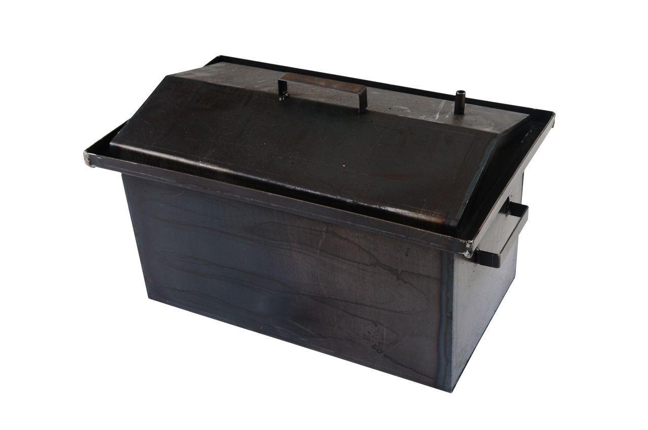 Коптилка DV - 250 x 450 x 250 мм, горячекатаная